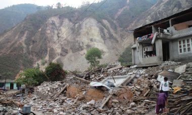 Sindhupalchowk-landslide-Nepal file photo